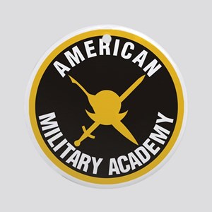 American Military Academy SSI Round Ornament