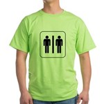 Male Partners Green T-Shirt