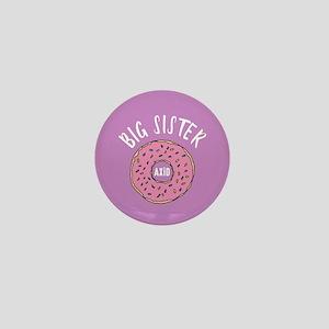 Alpha Xi Delta Big Donut Mini Button