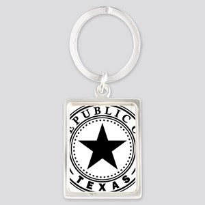 Republic of Texas Portrait Keychain