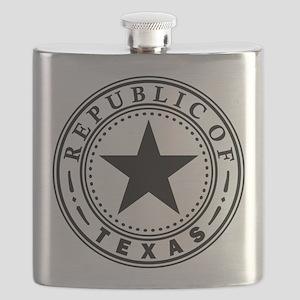 Republic of Texas Flask