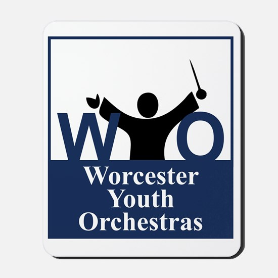Worcester Youth Orchestras Block Logo Mousepad