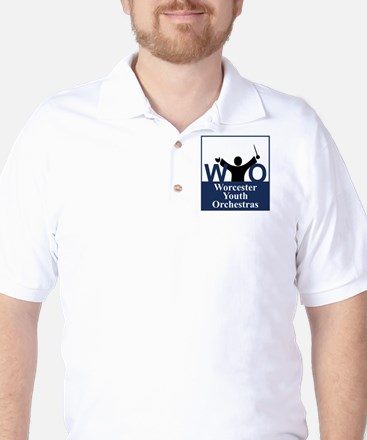 Worcester Youth Orchestras Block Logo Golf Shirt