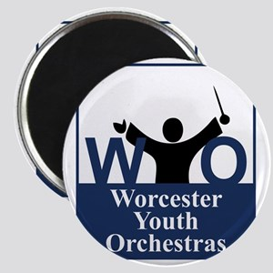 Worcester Youth Orchestras Block Logo Magnet