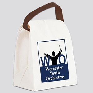 Worcester Youth Orchestras Block  Canvas Lunch Bag