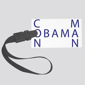 Obama the Con Man Large Luggage Tag