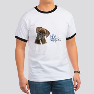 Boxer Puppy Ringer T