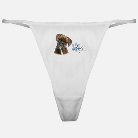 Boxer Puppy Classic Thong