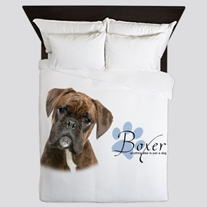 Boxer Puppy Queen Duvet