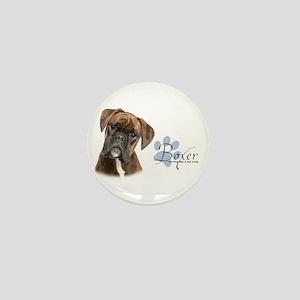 Boxer Puppy Mini Button