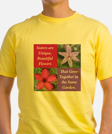 Sisters from the Same Garden Design T