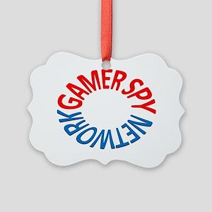 Gamer Spy Network Picture Ornament