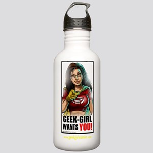 Official Geek-Girl ima Stainless Water Bottle 1.0L