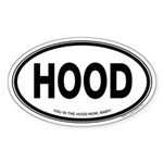 Hood bumper sticker