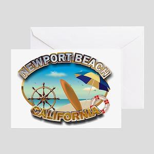 Newport Beach Greeting Card