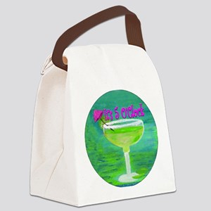 5 OClock Margarita Canvas Lunch Bag