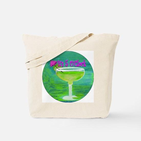 5 OClock Margarita Tote Bag