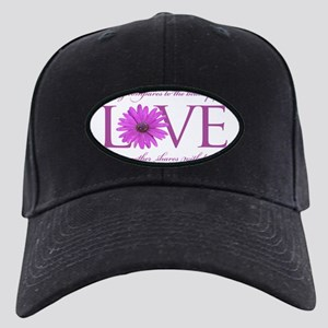 Nothing Compares to  a Mothers Love - Pu Black Cap