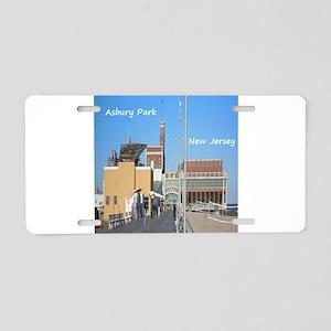 Asbury Park NJ Boardwalk Aluminum License Plate