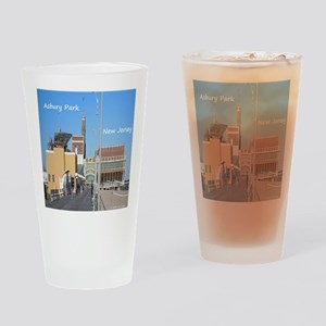 Asbury Park NJ Boardwalk Drinking Glass