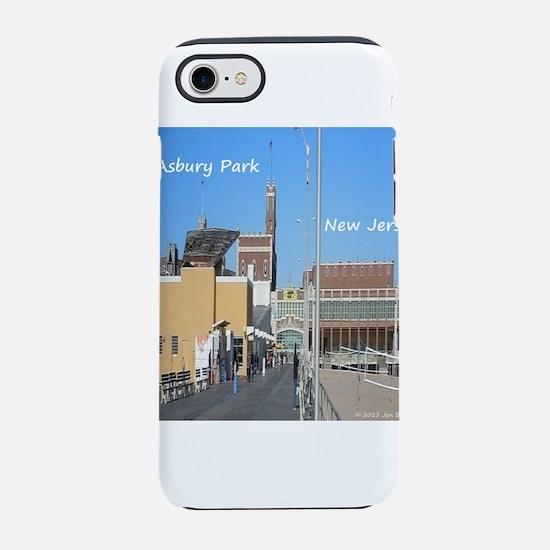 Asbury Park NJ Boardwalk iPhone 7 Tough Case