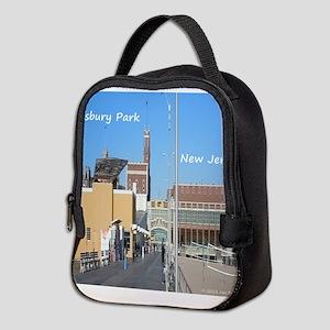 Asbury Park NJ Boardwalk Neoprene Lunch Bag