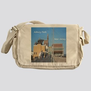 Asbury Park NJ Boardwalk Messenger Bag