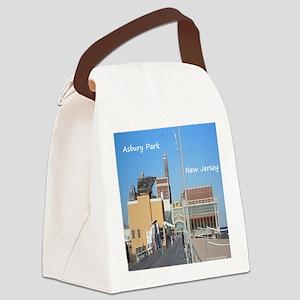 Asbury Park NJ Boardwalk Canvas Lunch Bag