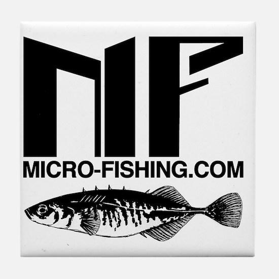 Micro-Fishing.com Tile Coaster