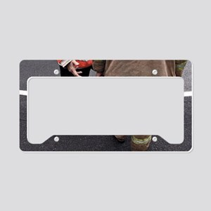 Body Language 06 License Plate Holder