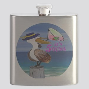 Its 5 OClock Martini Pelican Flask