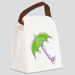 Umbrella Canvas Lunch Bag