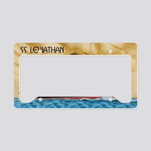 SS Leviathan License Plate Holder