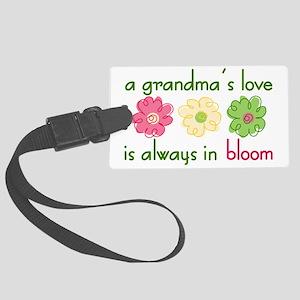 Grandma's Love Large Luggage Tag