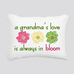 Grandma's Love Rectangular Canvas Pillow