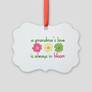 Grandma's Love Picture Ornament