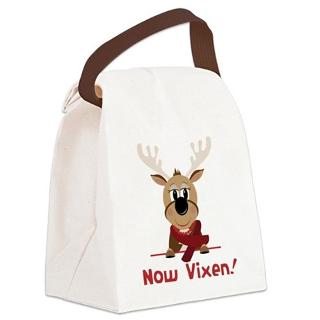 Now Vixen Canvas Lunch Bag
