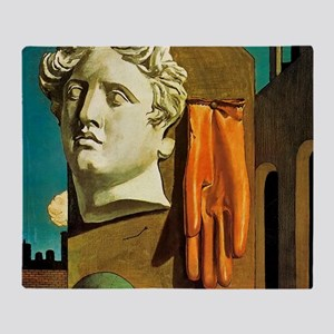 De Chirico Love Song Throw Blanket