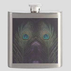 Royal Purple Peacock Flask