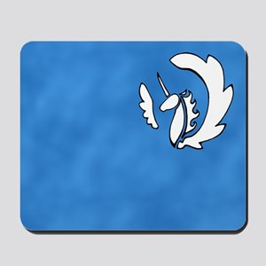 Alicorn Mousepad (White)