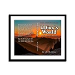 Kdira's World Small Framed Panel Print