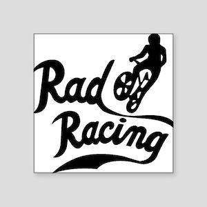 "Rad Racing Square Sticker 3"" x 3"""