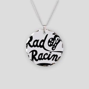 Rad Racing Necklace Circle Charm