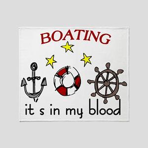 Boating Throw Blanket