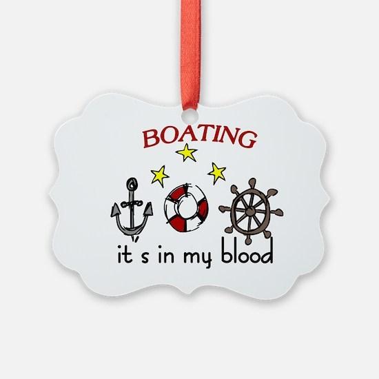 Boating Ornament