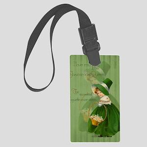 sq_greeting_card_192_V_F Large Luggage Tag
