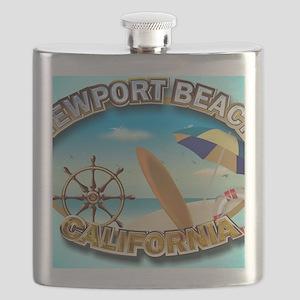 Newport Beach Flask