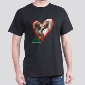 Tilin and Tina Valentine Dark T-Shirt
