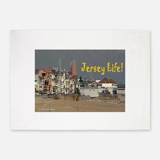 Jersey Life 5'x7'Area Rug