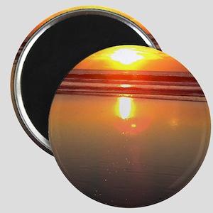 Marina del Rey Sunset Magnet